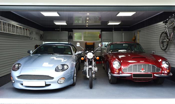 Fitted Garage Interior Amp Aston Martin Owners Garage From