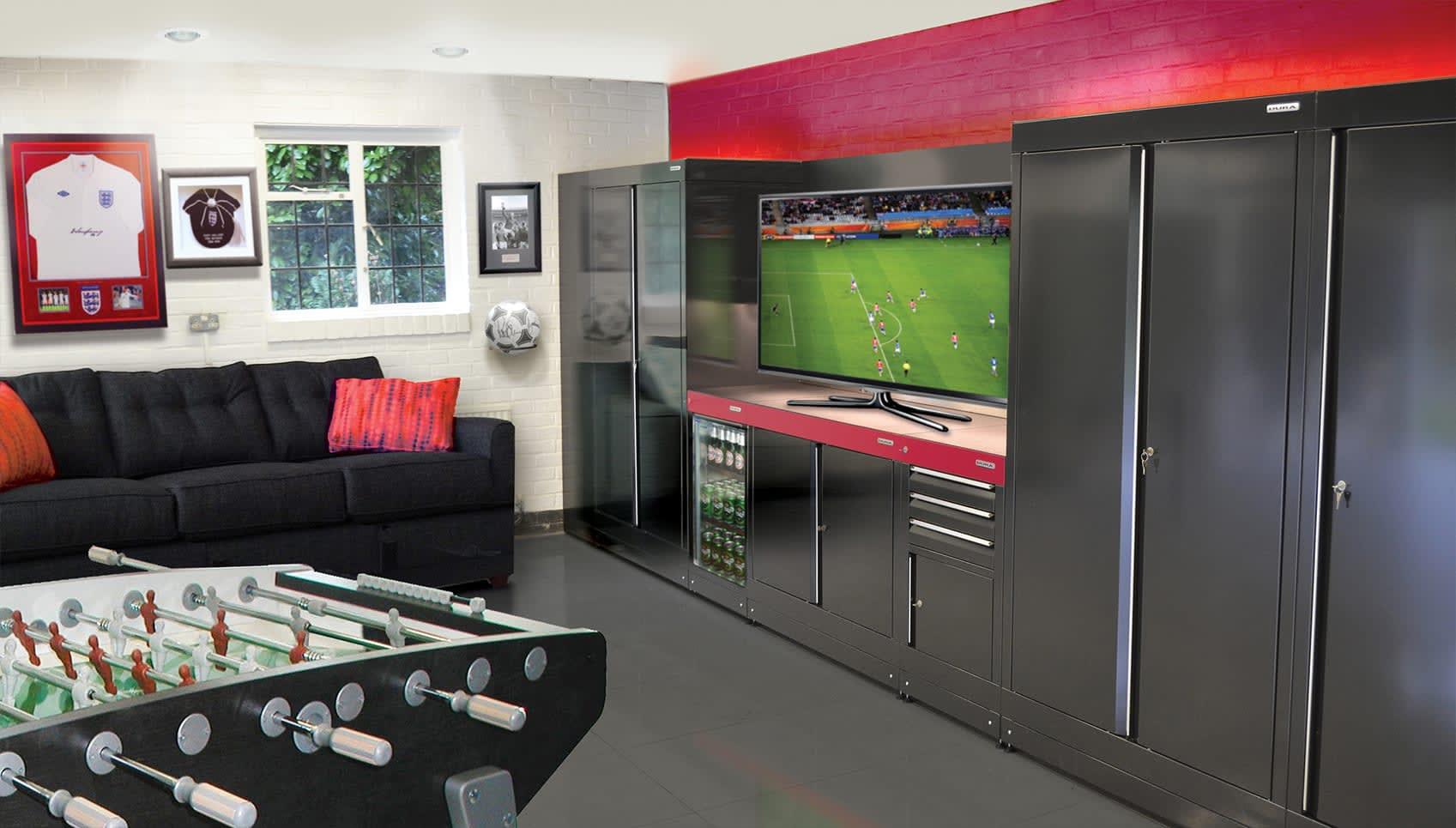 Sporting Garage Design Ideas