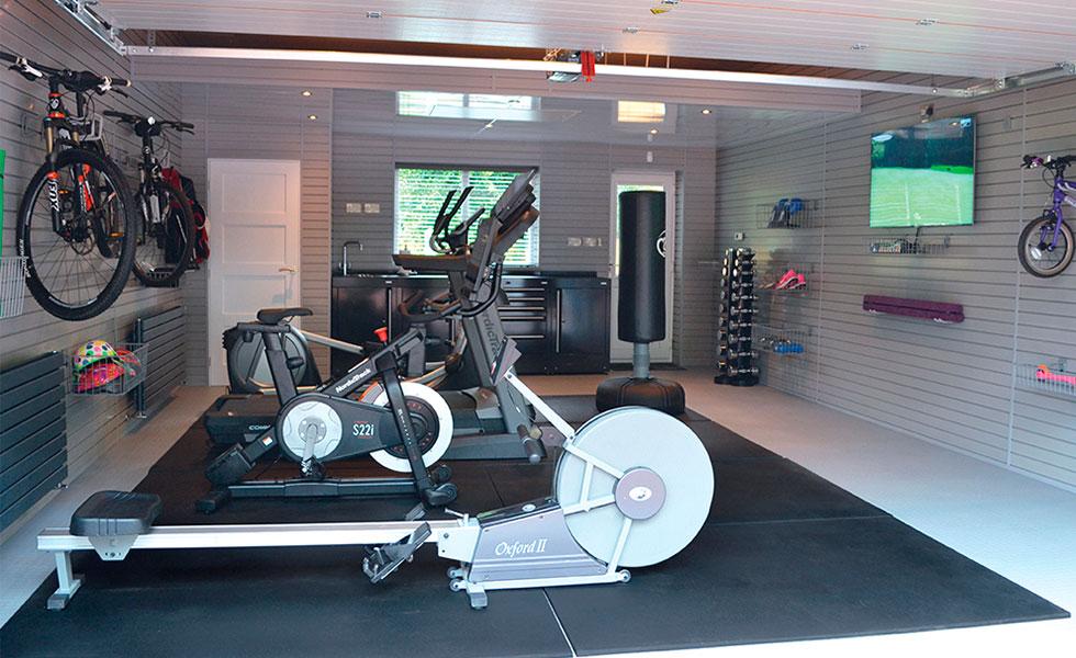 Fitness Garage Design Ideas
