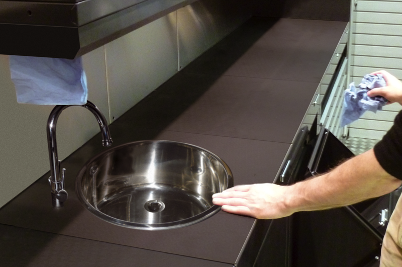 Garage Sink Unit : Garage Sink Cabinets & Waste Bin Units from Dura Garages