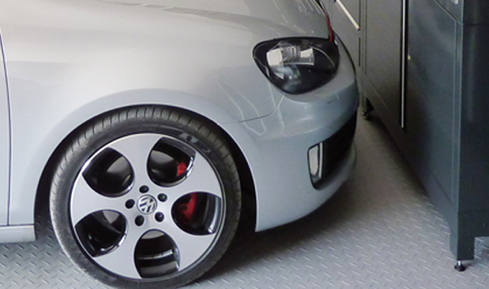 Perfect Garage Flooring Garage Flooring Guide From Dura Garages - Car show floor covering