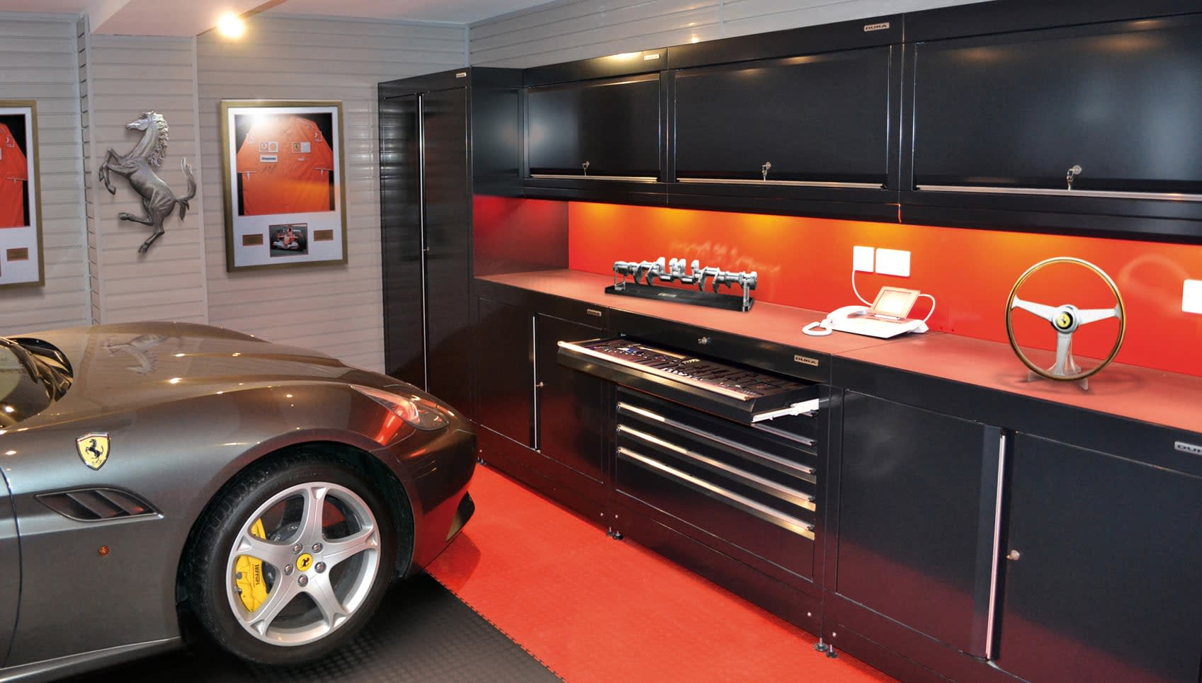 Home Workshops & Car Themed Garages from Dura Garages