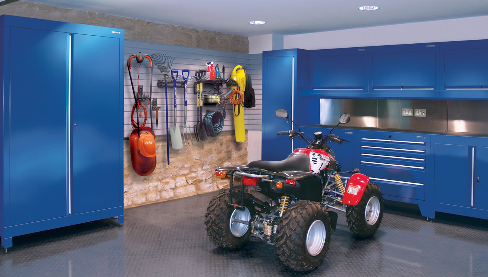 Motorcyclist S Garage Amp Home Motorcycle Workshop From Dura