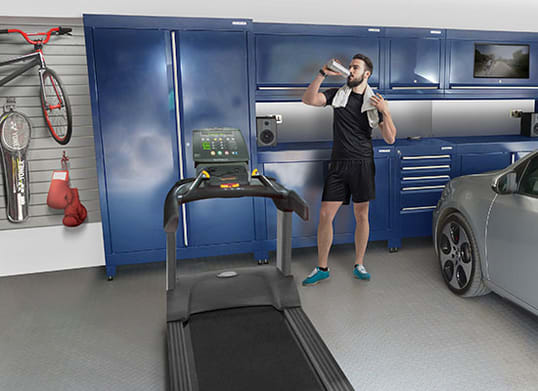 Garage Gym Interior Fit-Out